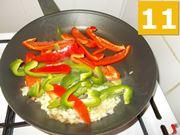 La cottura dei peperoni