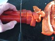 taglio i peperoni
