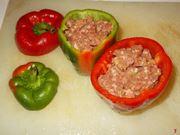 Riempire i peperoni