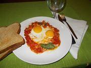 Il pomodoro con le uova