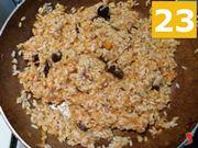mescolare riso e zucca