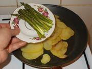 La cottura degli asparagi