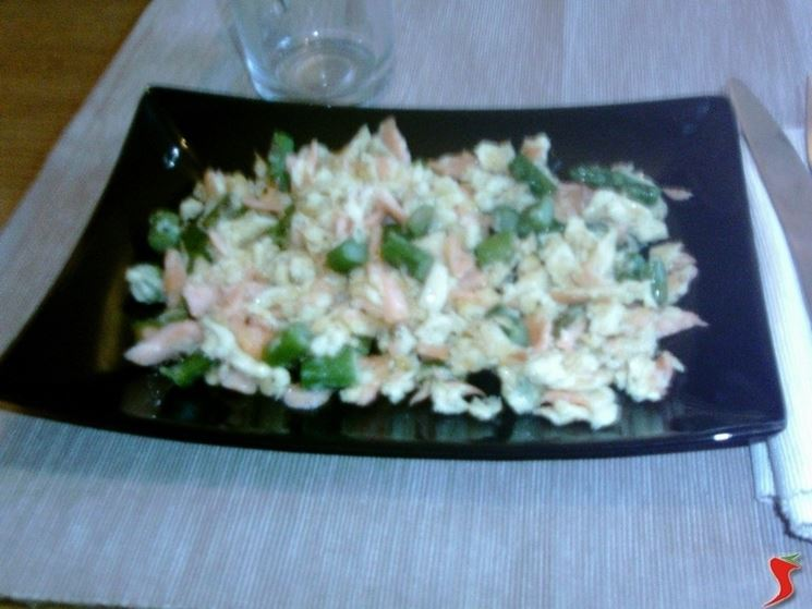 Asparagi e salmone