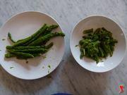tagliare asparagi
