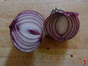 taglio della cipolla