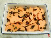 zucca con capperi e olive