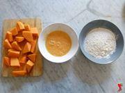preparare la zucca per la frittura
