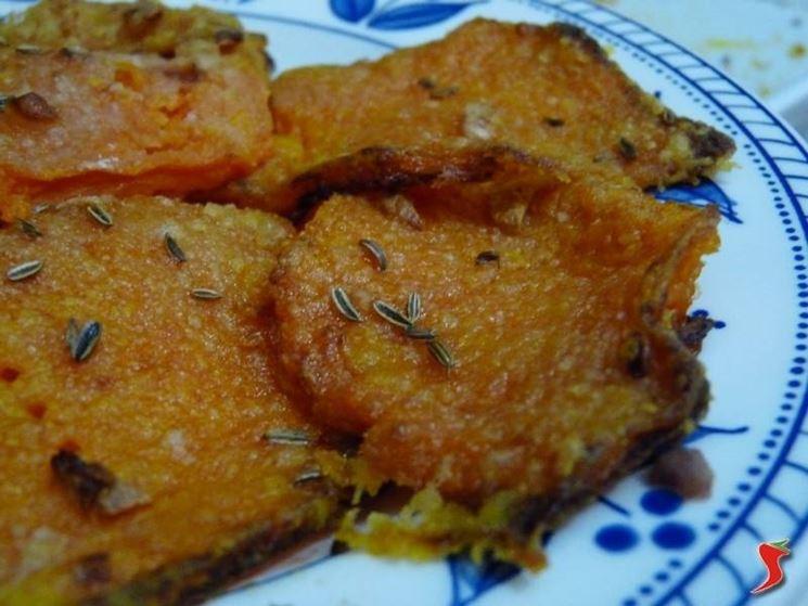 zucca gratinata