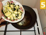 La cottura della zucchina