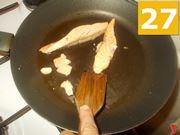Preparazione del salmone