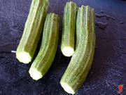 pulisco le zucchine