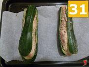 Imbottire le zucchine