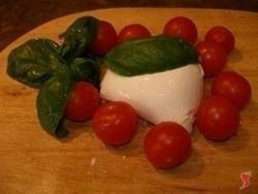 pasta mozzarella pomodorini