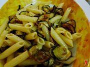 Pasta zucchine pancetta